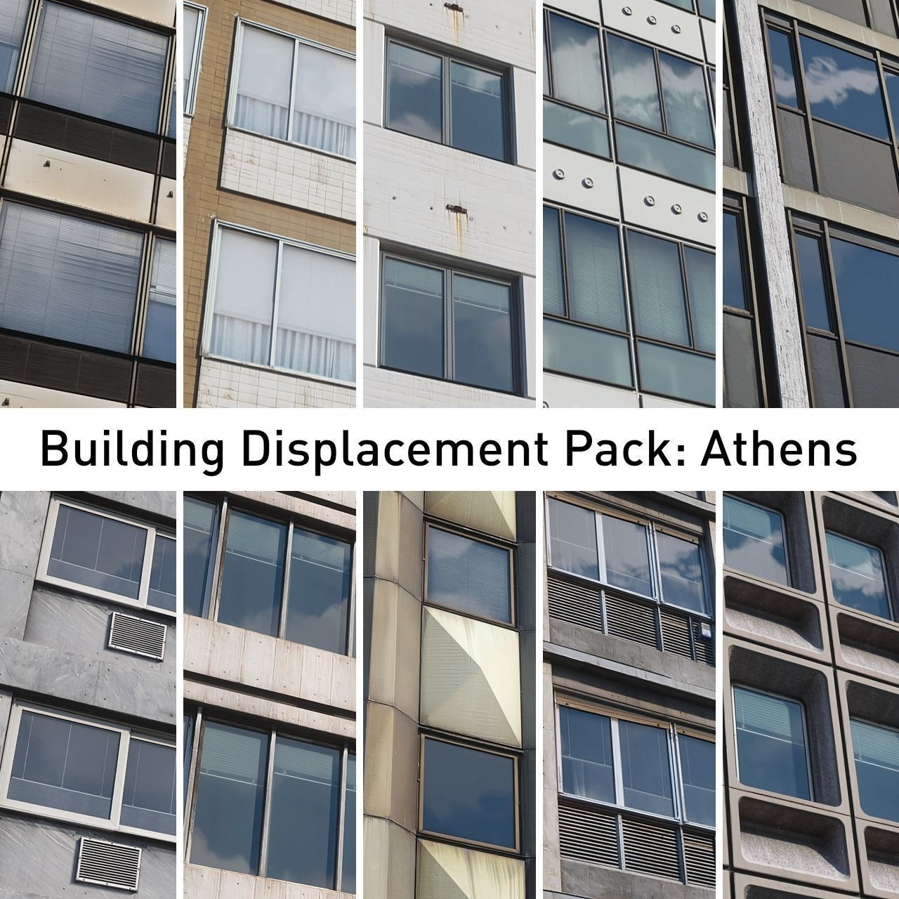 Building Displacement Pack Athens