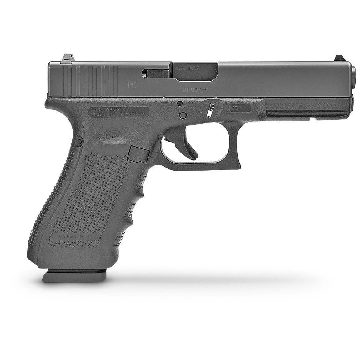 Glock 17 3D Print Model | 3D model