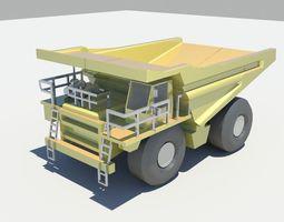truck daf 3d model