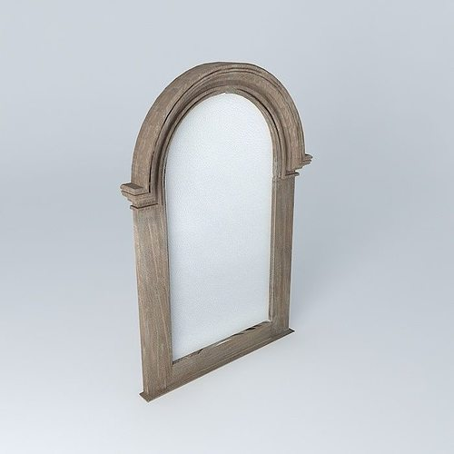 3d oliveraie mirror cgtrader for Mirror 3d model