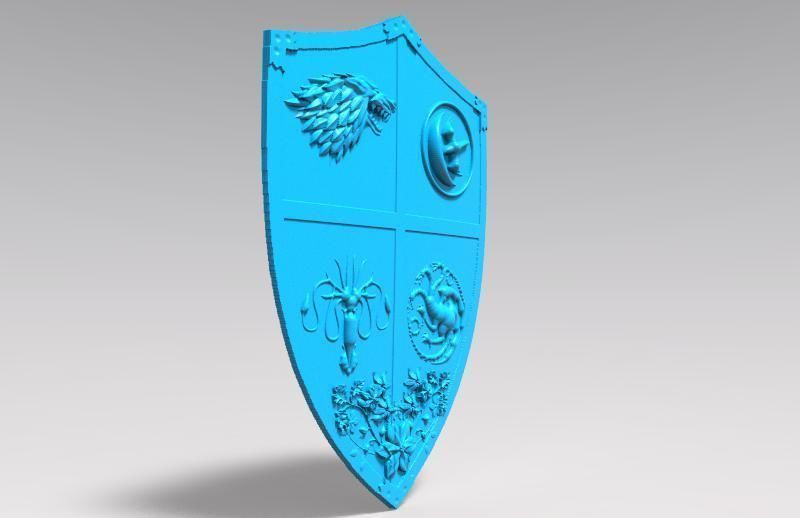 image about Printable Shield named Sport of thrones protect 3D Print Fashion