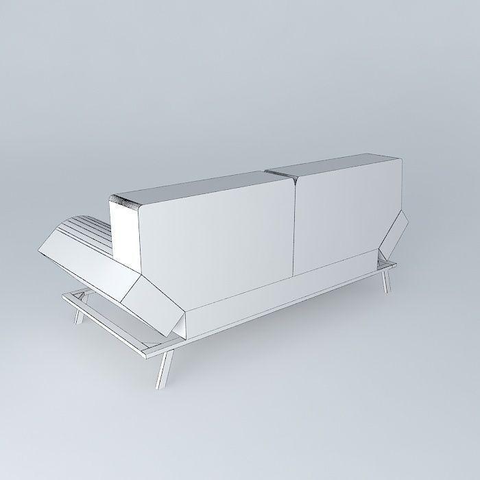 Maison du monde canape convertible canape convertible for Bureau qui se transforme en lit