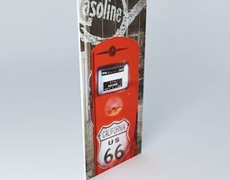 3D model Gasoline, canvas