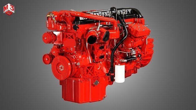 X12 Heavy Duty Truck Engine - 6 Cylinder Diesel Engine