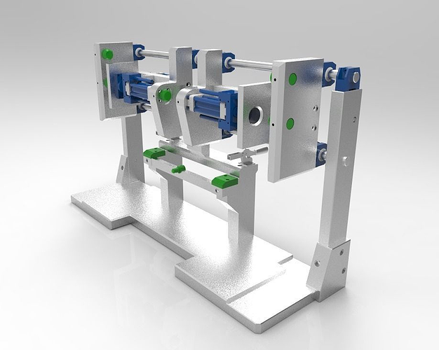 assembly and welding bench 3d model stp 1