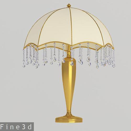 Classy Table Lamp Collection 3D Model MAX OBJ 3DS MTL