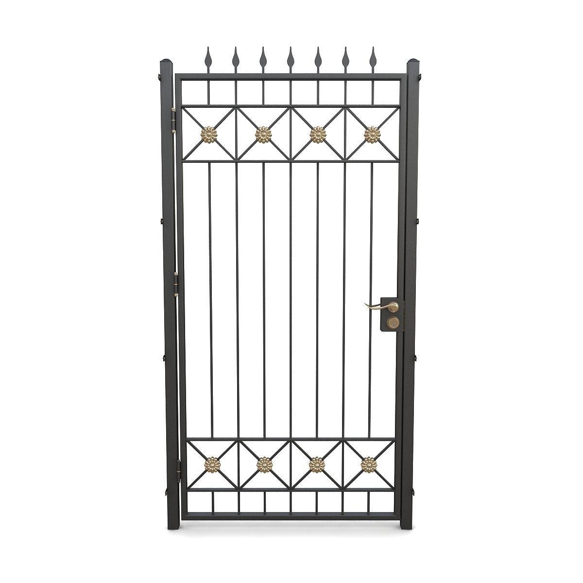 Wrought iron gate 09