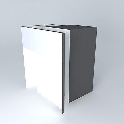 Anti Panic Room Door Design 3D Model
