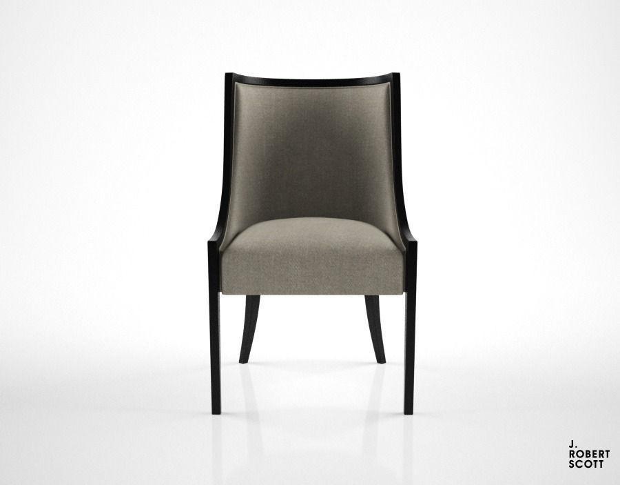 J Robert Scott Bostonian Dining Chair 3d Model Max Obj Fbx Mtl 1 ...