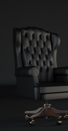 arm chair 3d model max 1