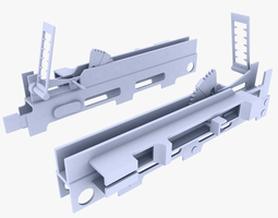 3d model low-poly grenade launcher sight