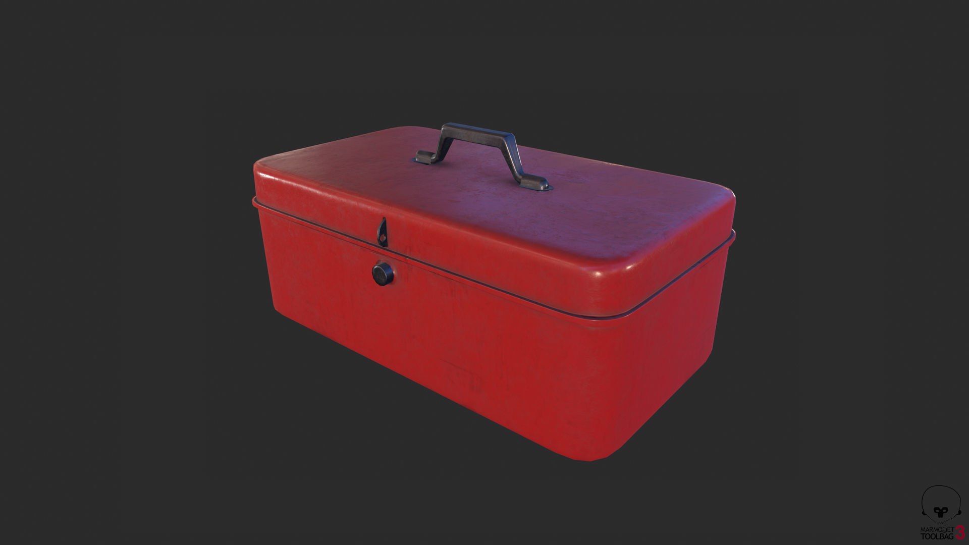 Antique Toolbox game ready