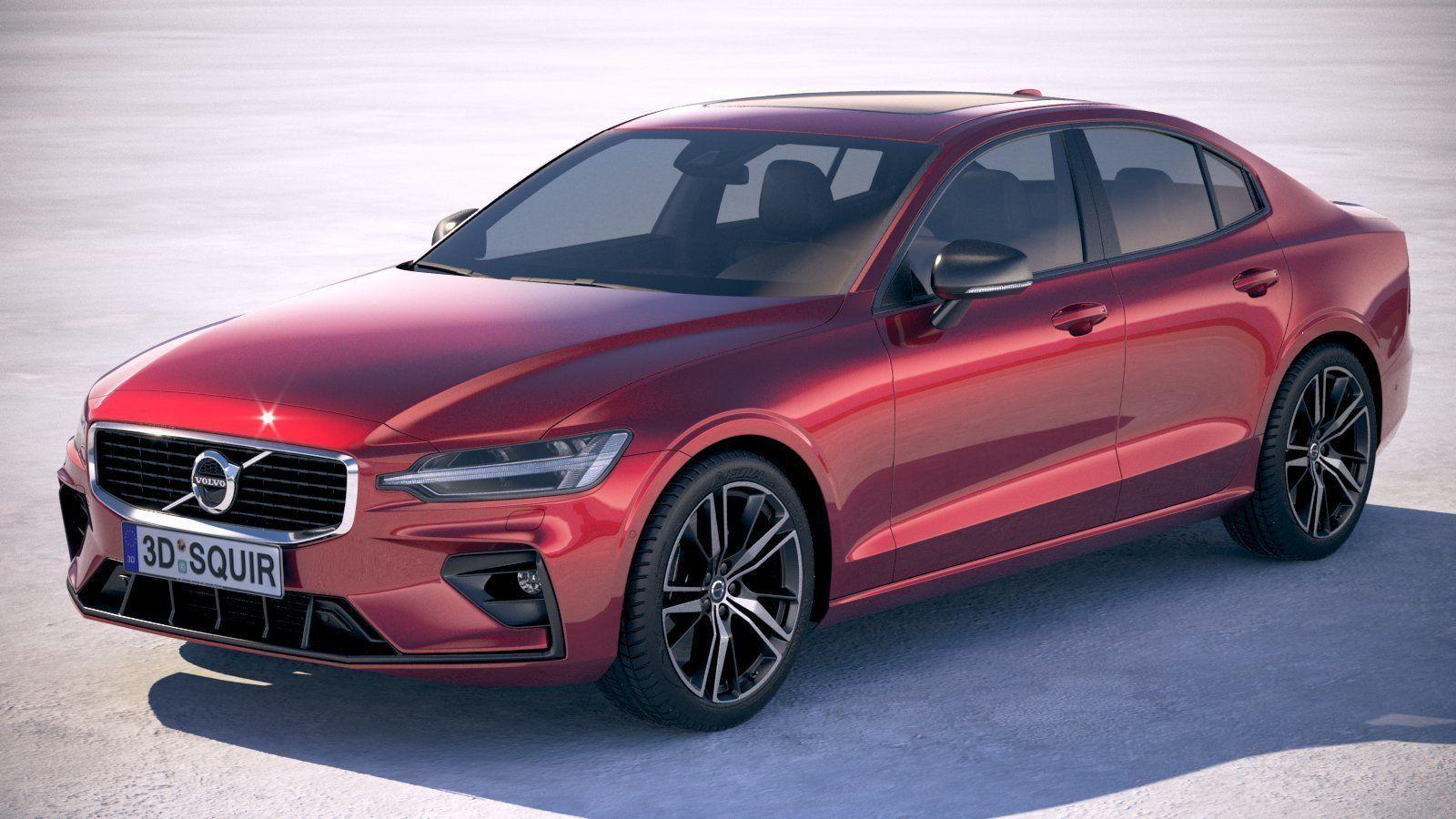 Volvo S60 R-design 2019 3D | CGTrader