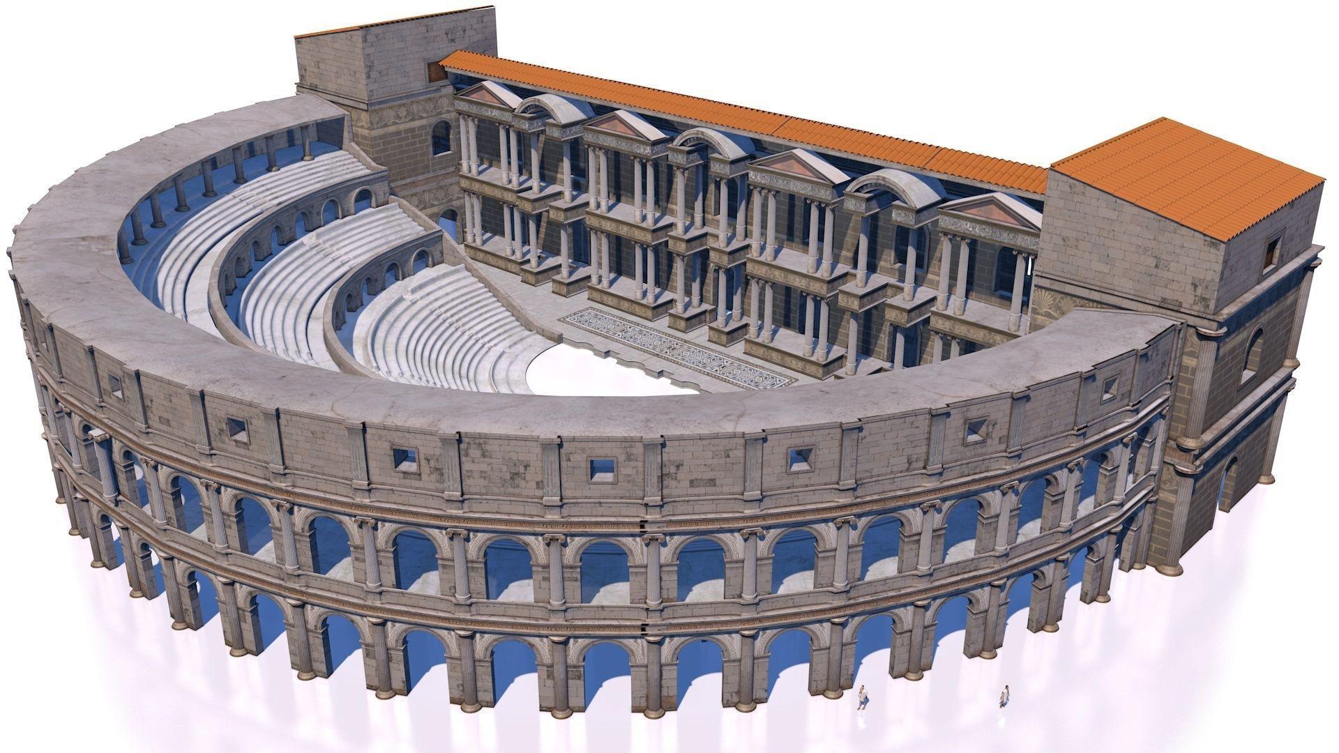 classical roman theater