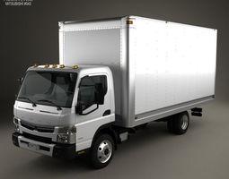 Mitsubishi Fuso Box Truck 2013 3D model