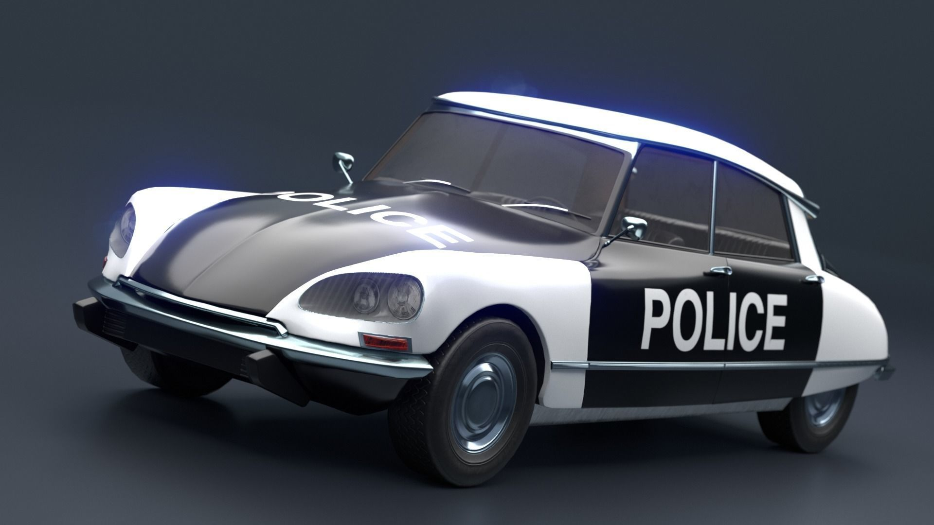 Retro Vehicle  - Citroen DS -