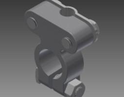 battery sae terminal 3D model