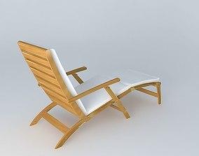 3D model Deckchair OLÉRON