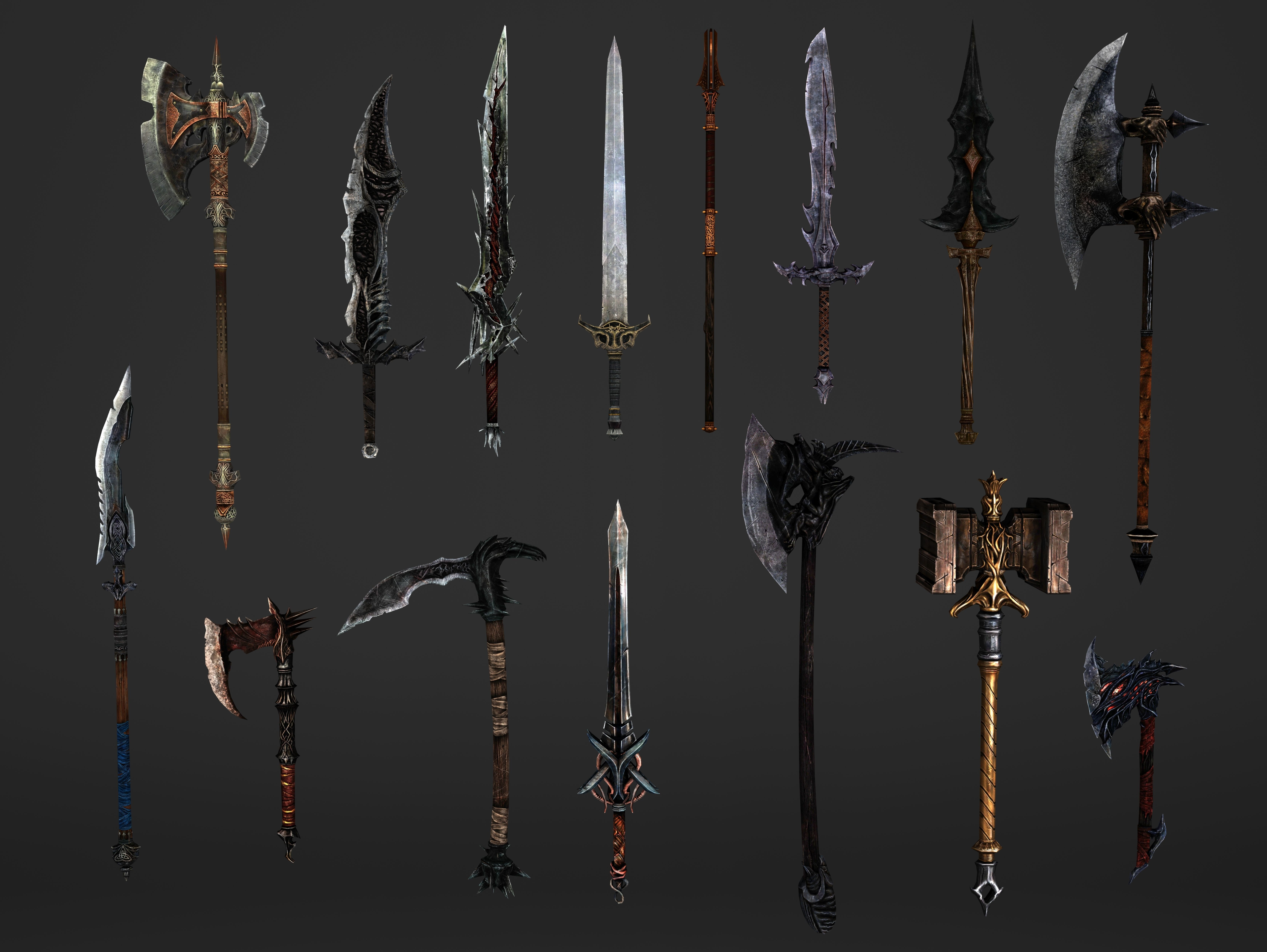 Fantasy Magical Weapons