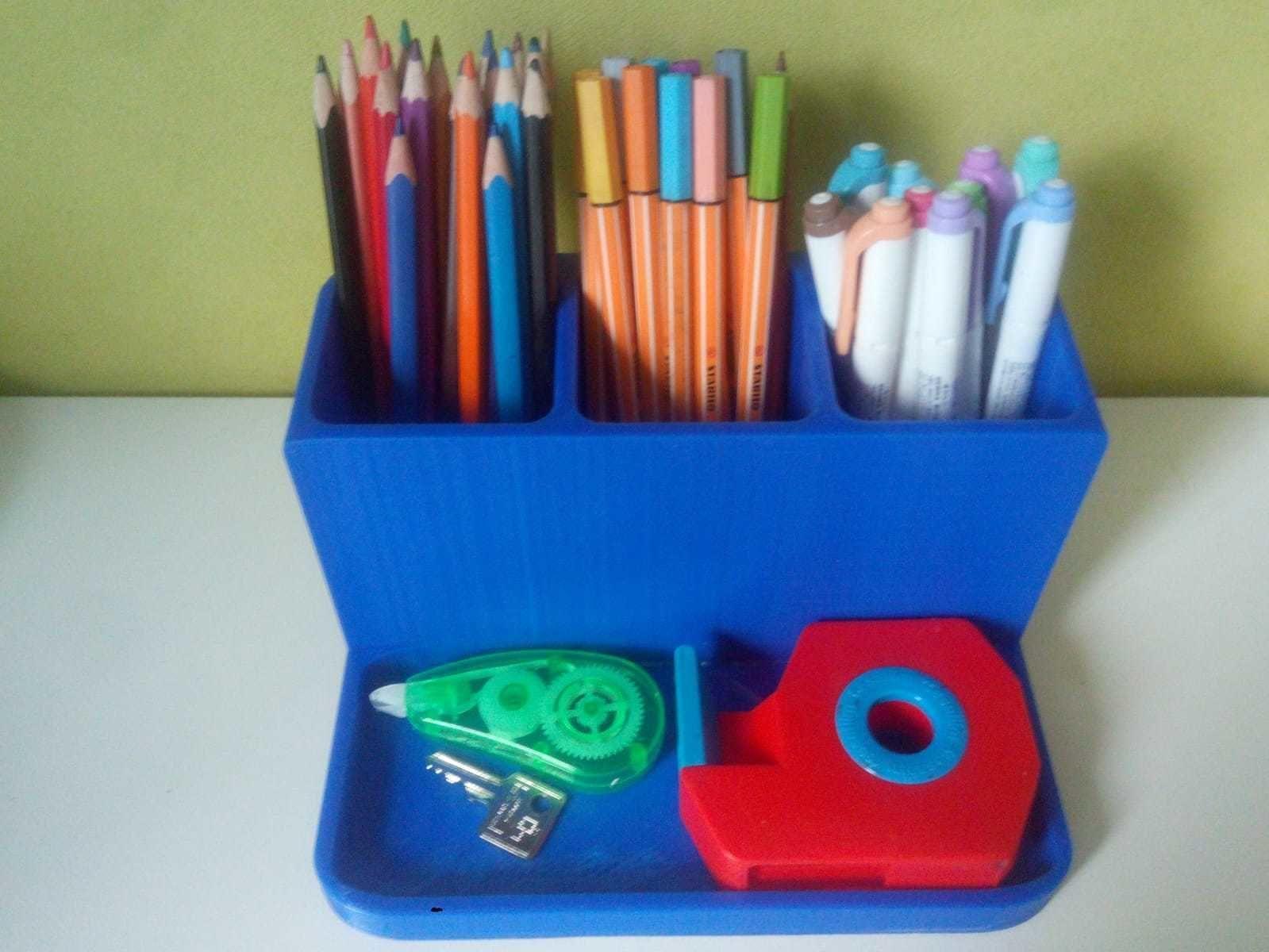 Pen holder Box for Makeup