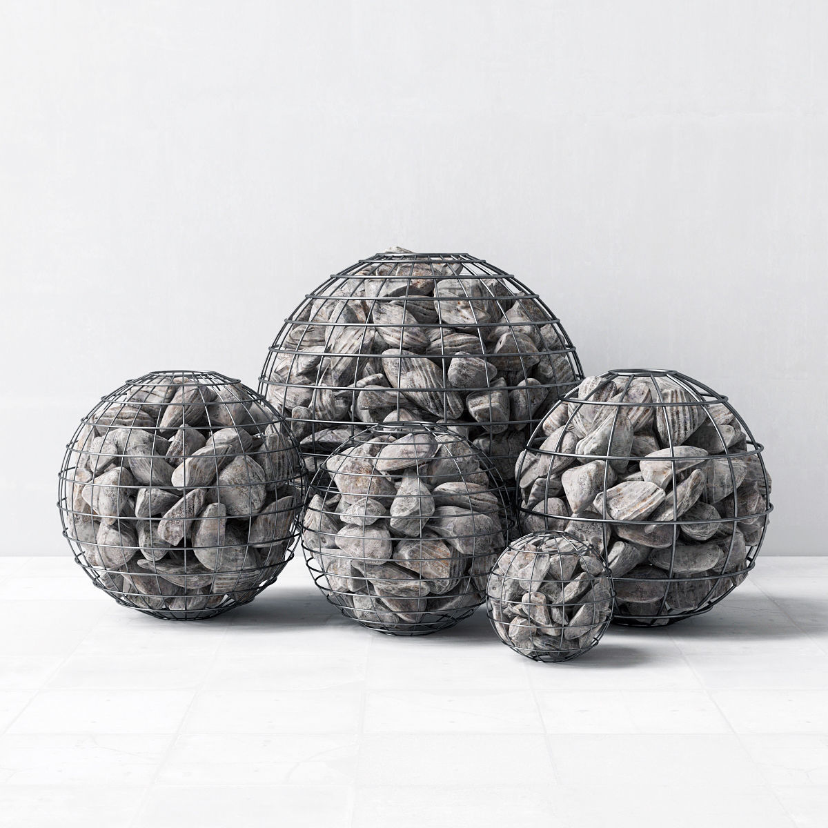 Gabion sphere form