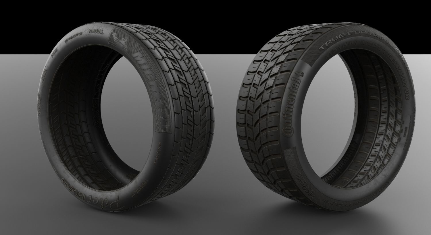 Tyre Model and 4K Texture
