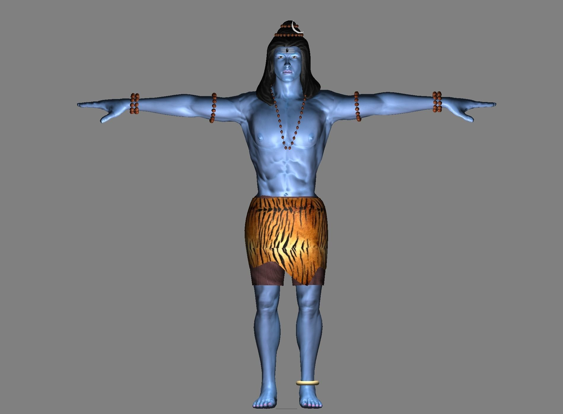 Lord Shiva | 3D model