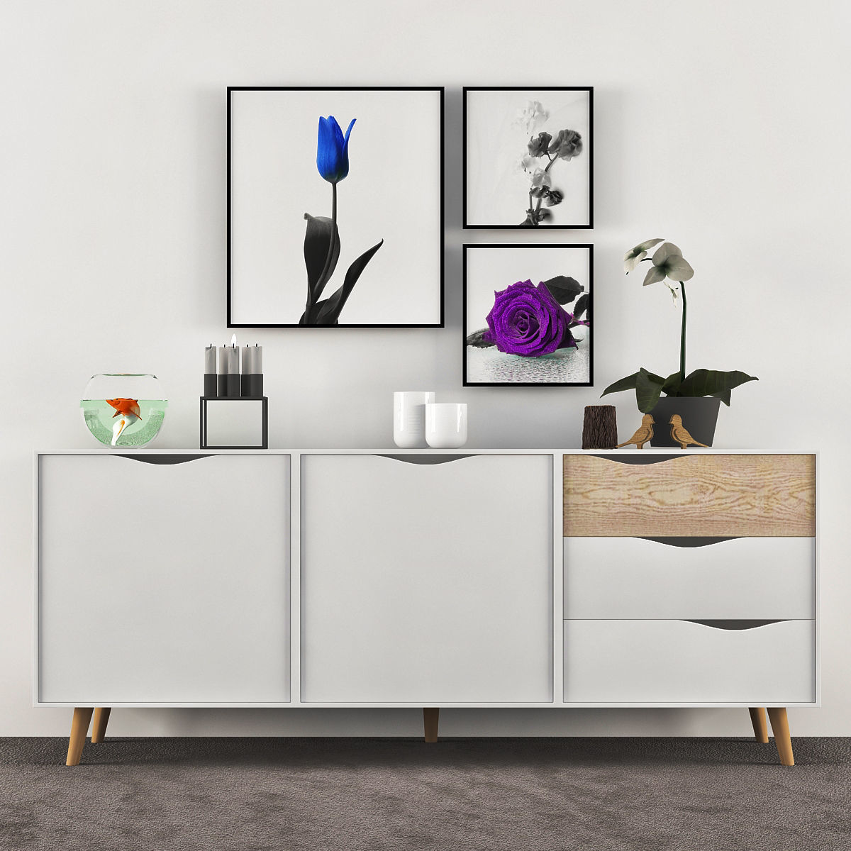 Console Tables Ikea 3d Model