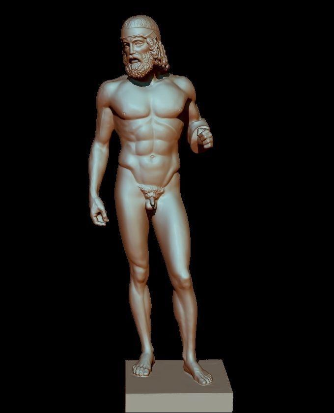 bronzo di riace statue model