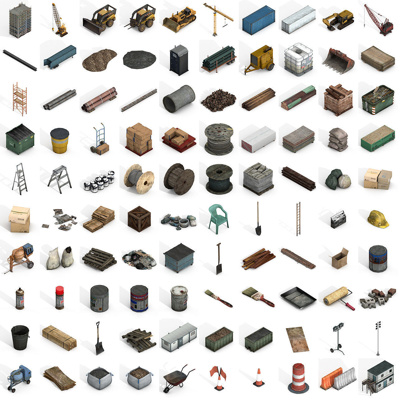 Large Construction Collections