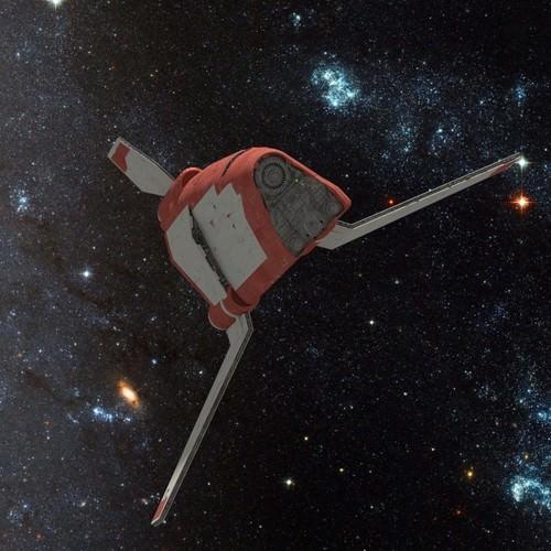 space freighter 3d model obj 3ds fbx blend mtl 1