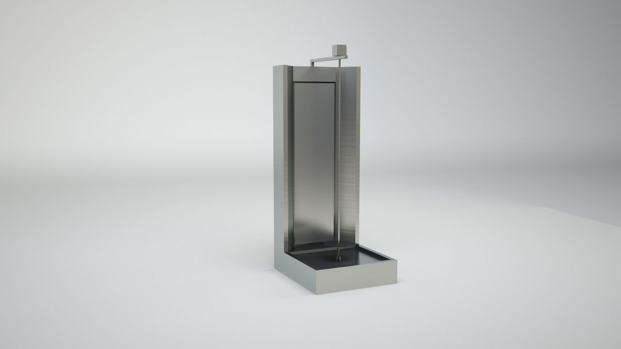 3D Gyros Machine | CGTrader