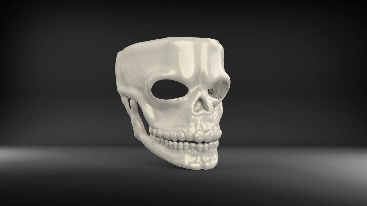 Mask James Bond Spectre Skull 007