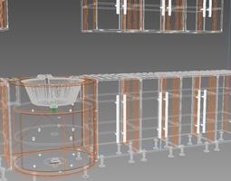 Kichen Table 3D