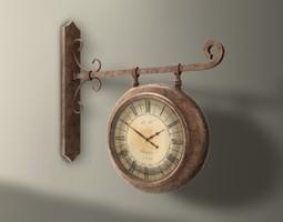 3D model Wall Bracket Clock