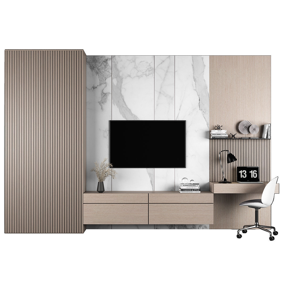 TV stand and workplace