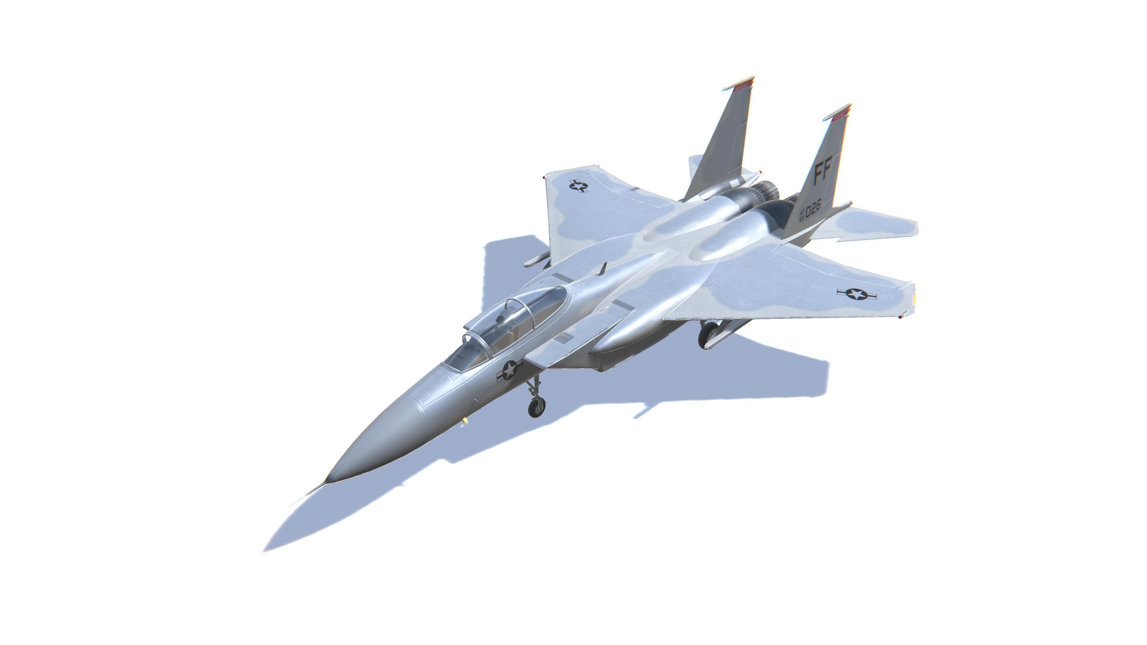 F-15 Eagle Jet Fighter Aircraft