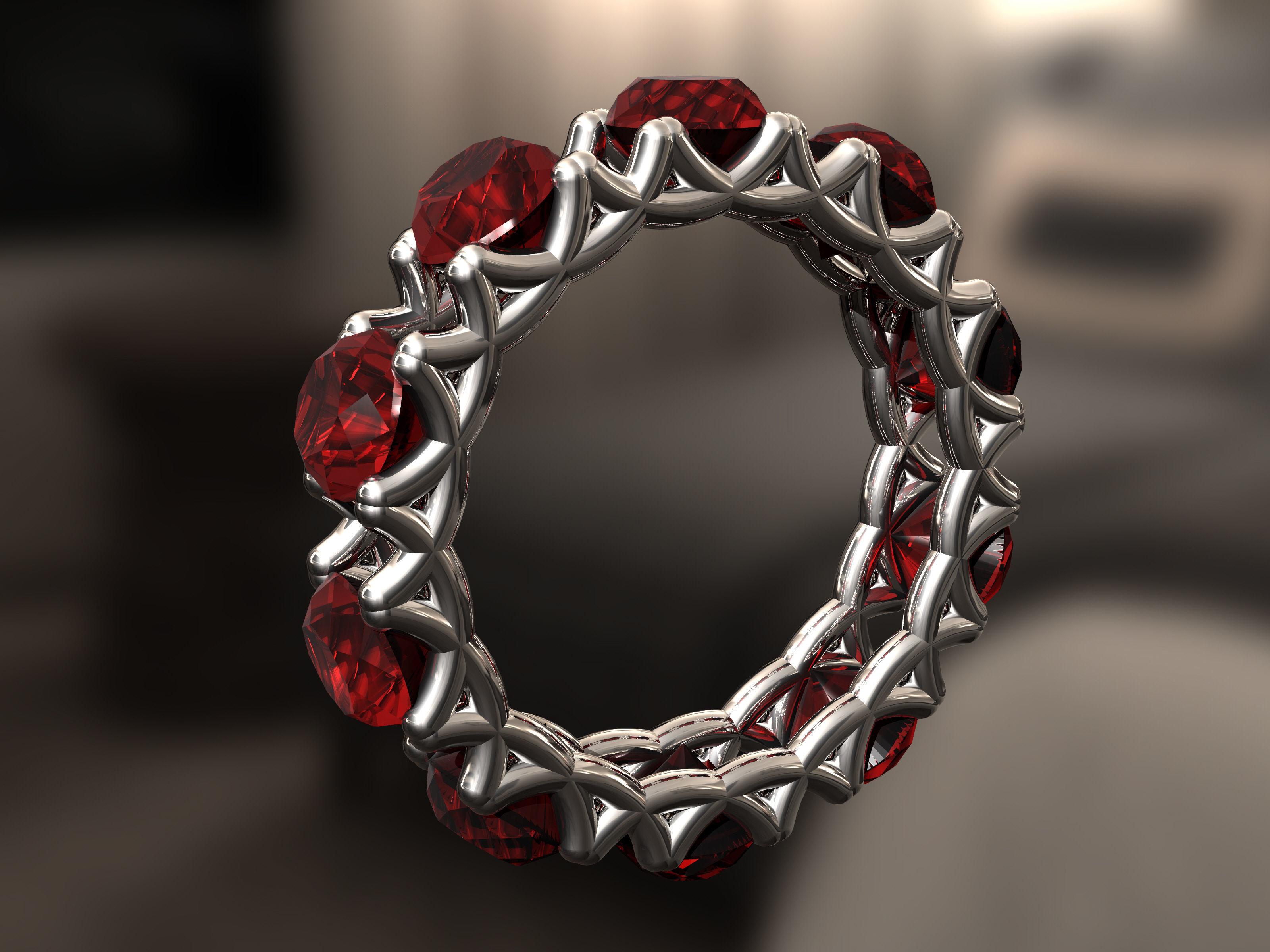 Sun Ring | 3D Print Model