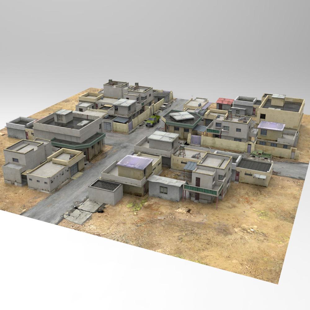 Desert Town   3D model