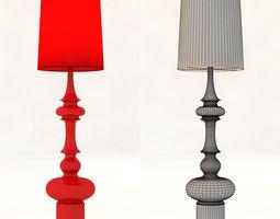cosmo KING floor lamp 3D