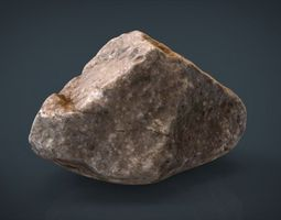 3d model real stone 9
