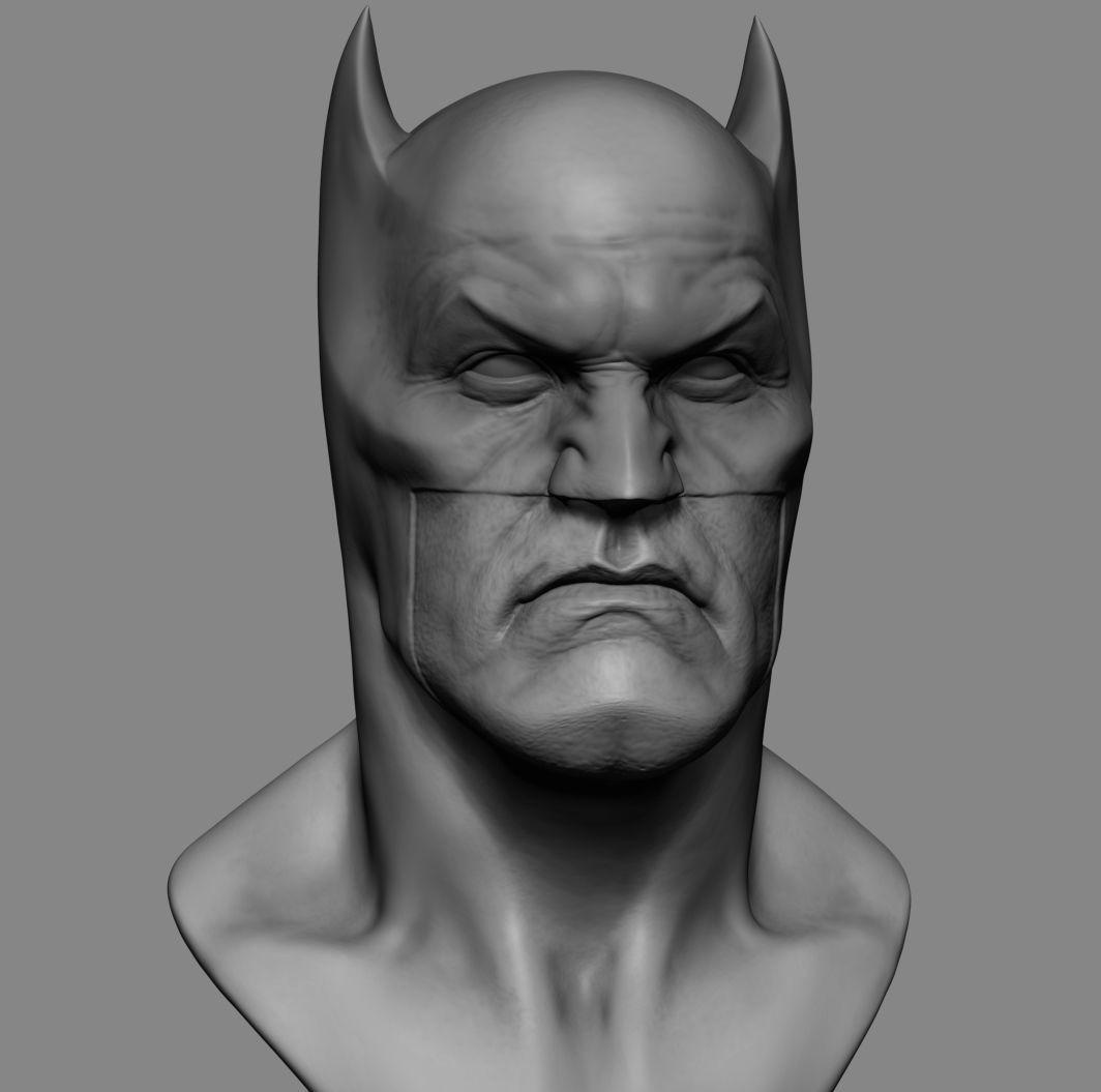 Batman Head Printable v2