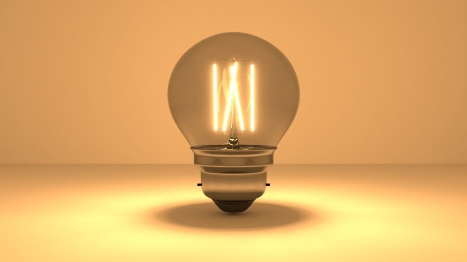 Light bulb - LED Filament