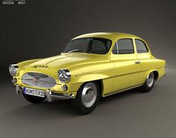skoda octavia 1959 3d
