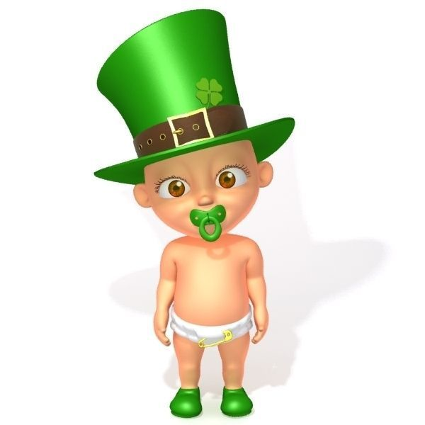 Leprechaun baby cartoon rigged 3d model cgtrader leprechaun baby cartoon rigged 3d model rigged max obj fbx ma mb mtl thecheapjerseys Images
