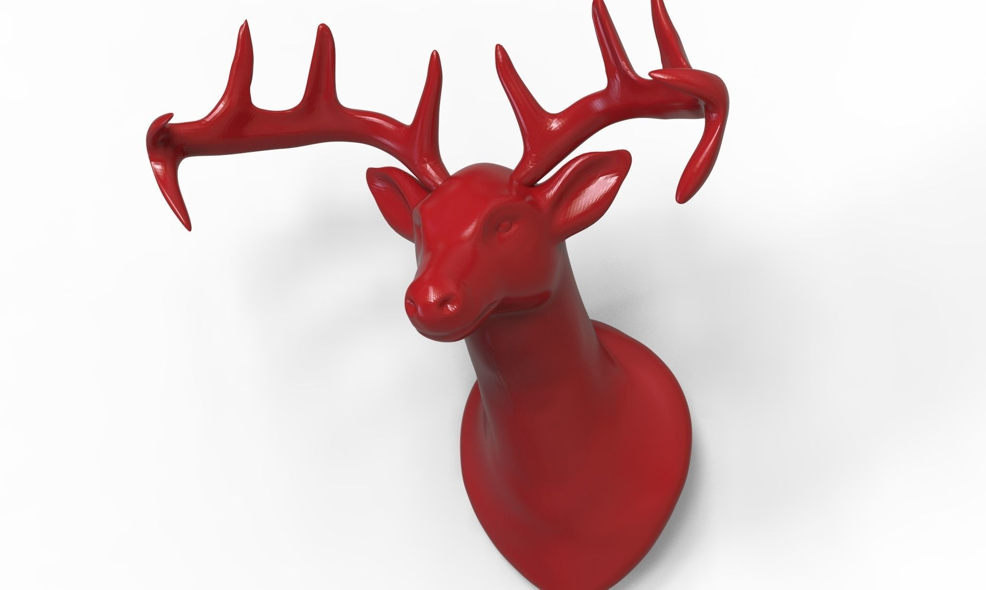 photograph relating to Printable Deer Head known as Deer Brain 3D Print Design