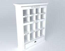 DVD unit NEWPORT CD Maisons du monde 3D Model