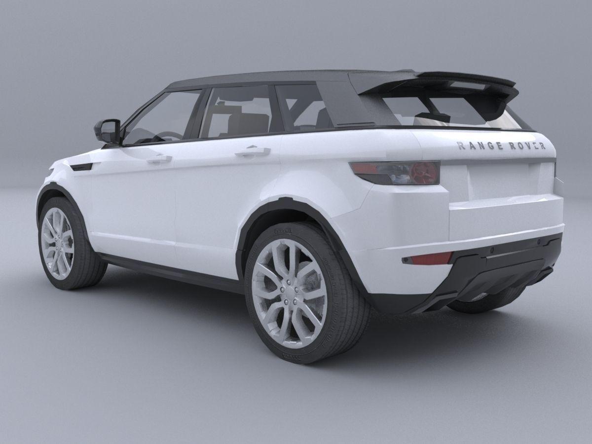 range rover evoque car4arch vol2 3d model max obj 3ds fbx. Black Bedroom Furniture Sets. Home Design Ideas