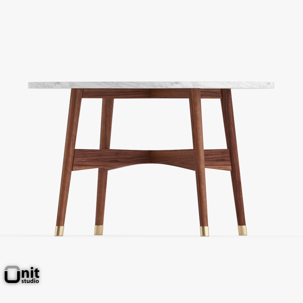 West Elm Reeve Marble Coffee TableReeve Mid Century Round Coffee - West elm reeve dining table