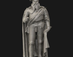 3D printable model Albert of Prussia statue